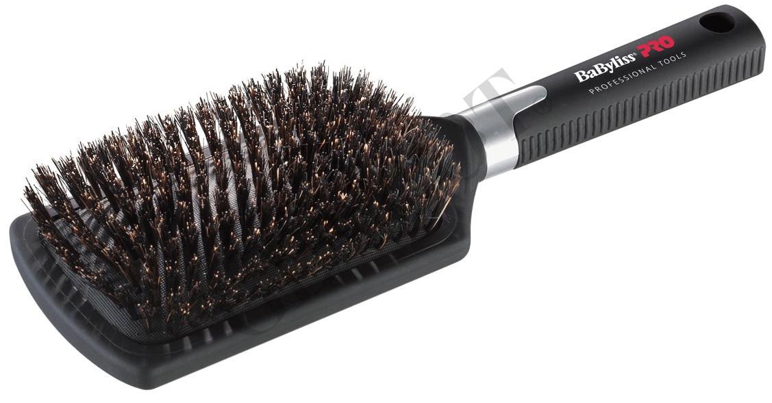 BaByliss PRO Large Paddle Brush Boar Bristles