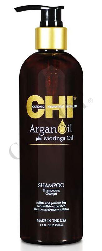 Sun Damaged Lips: CHI Argan Oil Shampoo