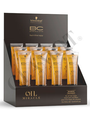 8ada4ec226 Schwarzkopf Professional BC Bonacure Oil Miracle Warming Treatment |  glamot.com