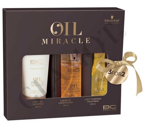 80ef2ca806 Schwarzkopf Professional BC Bonacure Oil Miracle Light Trio X-Mas Set |  glamot.com