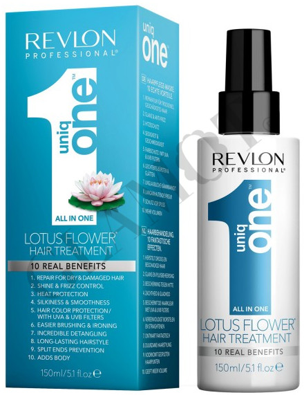 revlon professional uniq one lotus flower leave in hair treatment. Black Bedroom Furniture Sets. Home Design Ideas