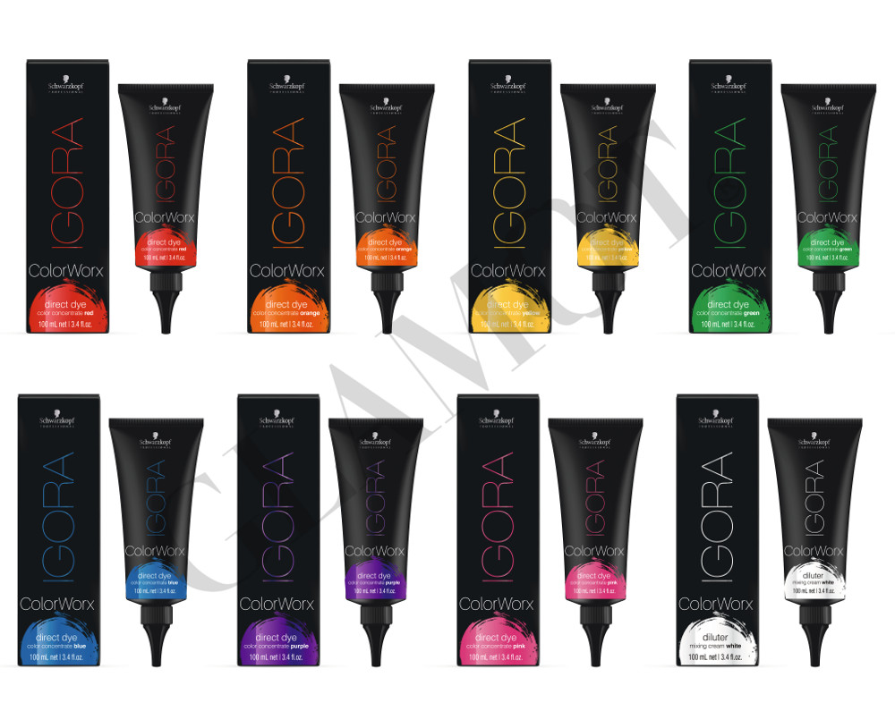 Schwarzkopf Professional Igora Color Worx Concentrates Semi