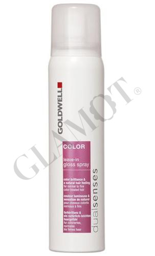 goldwell dualsenses color leave in gloss spray. Black Bedroom Furniture Sets. Home Design Ideas