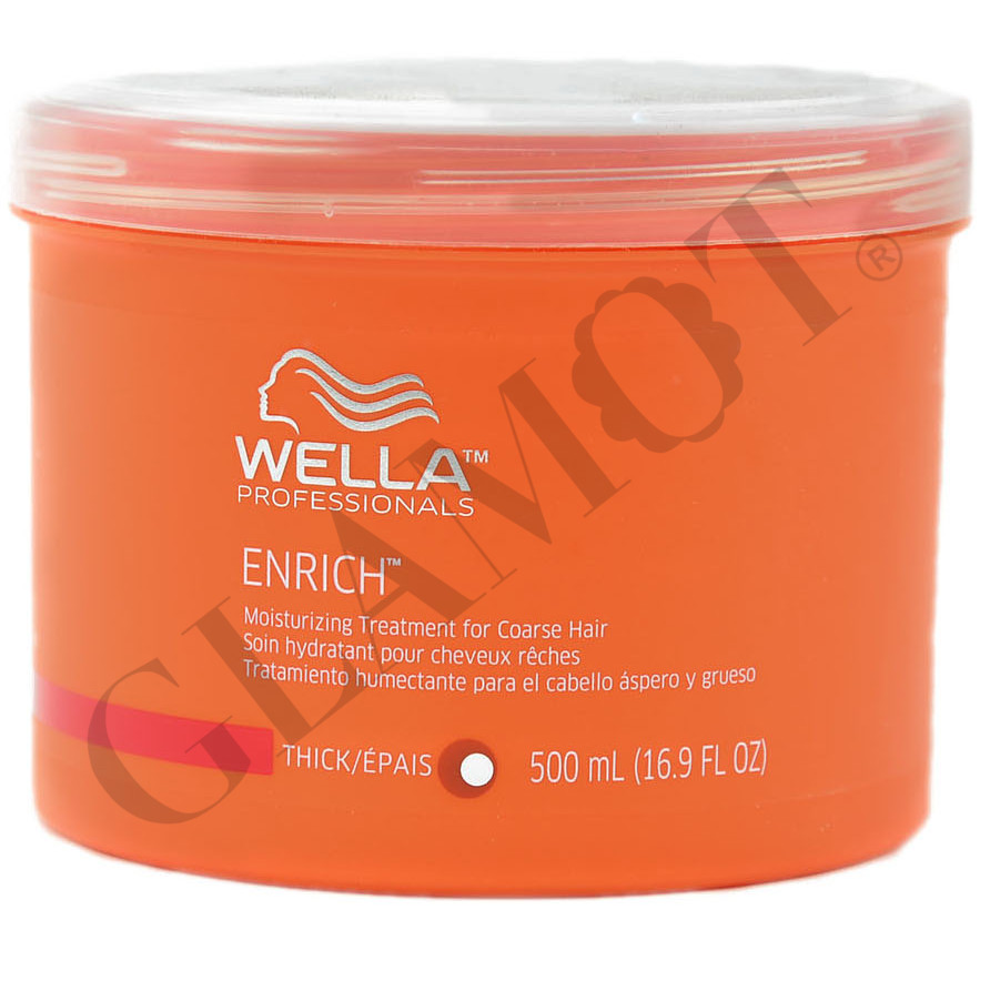 wella professionals enrich hydrating mask for thick hair. Black Bedroom Furniture Sets. Home Design Ideas