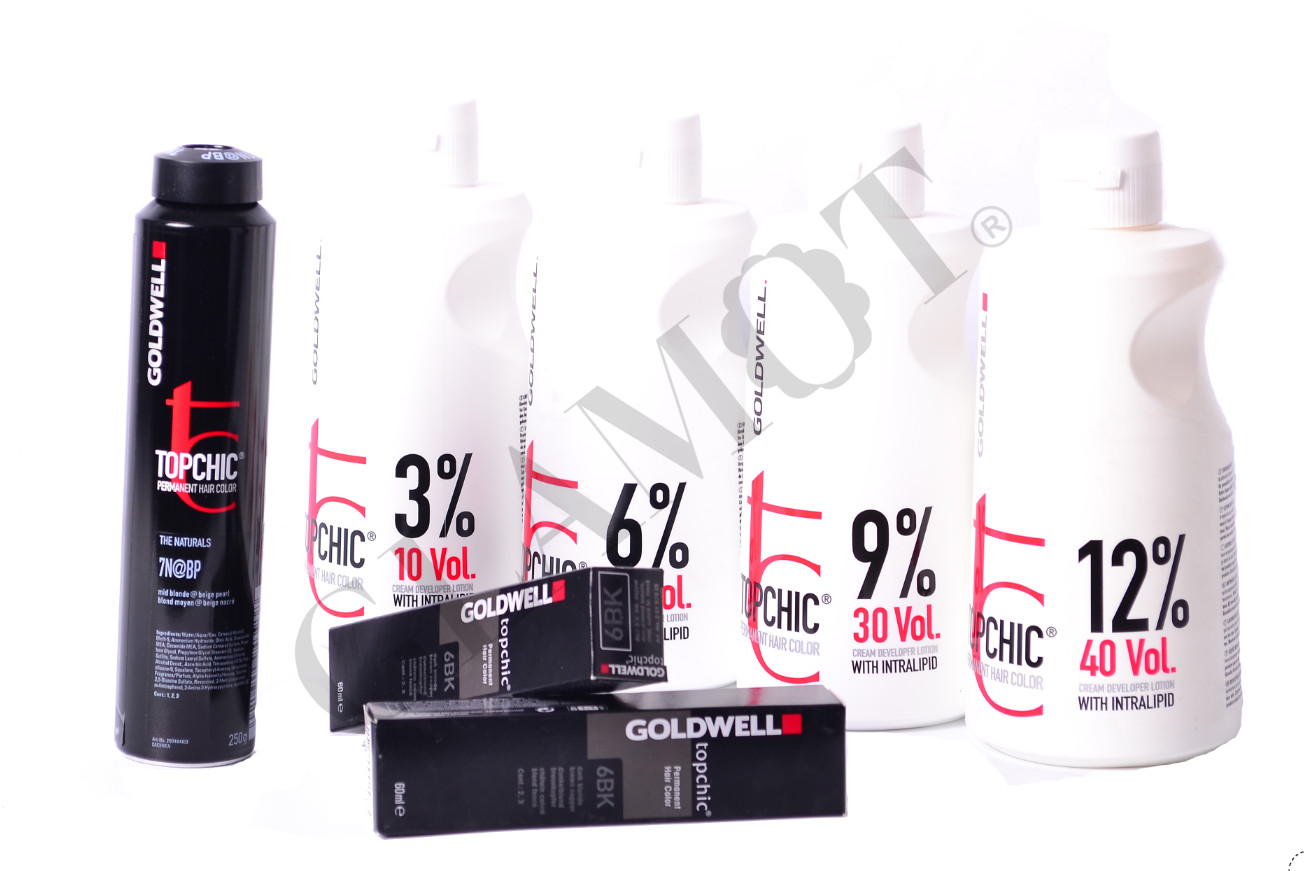 Goldwell Topchic Permanent Hair Color Glamot