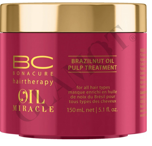 2d0b57bf47 Schwarzkopf Professional BC Bonacure Oil Miracle Brazilnut Oil Pulp  Treatment