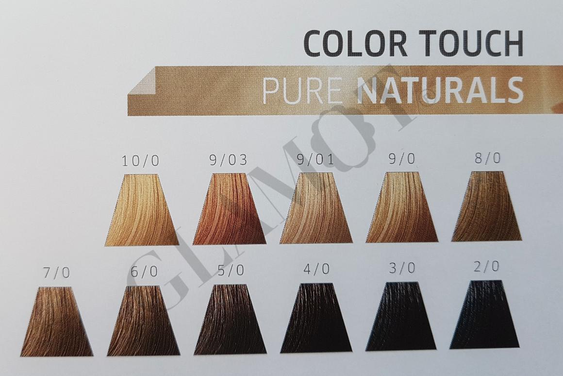 Wella Professionals Color Touch Pure Naturals Semi Permanent Hair