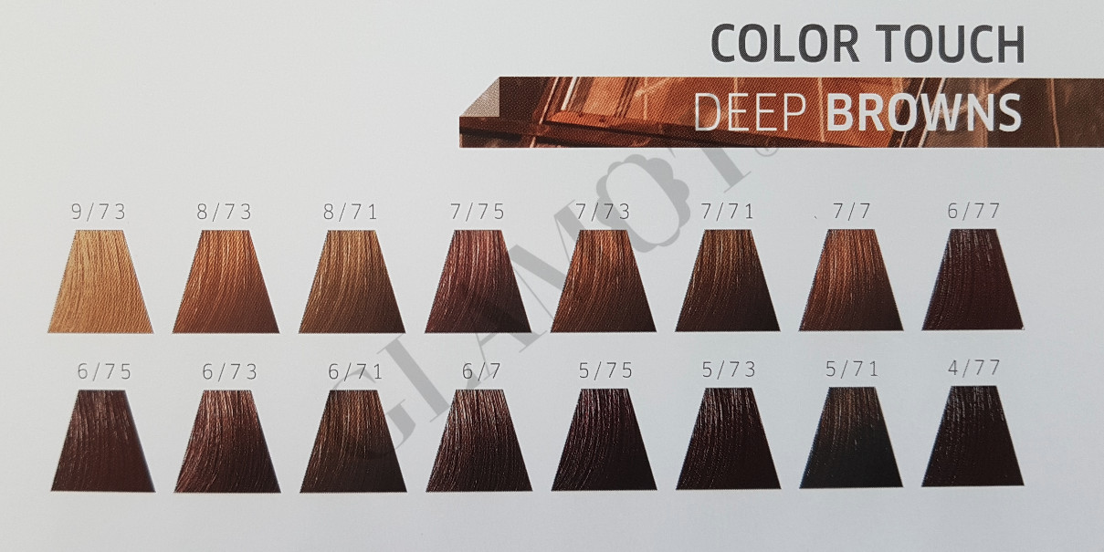 wella professionals color touch deep browns semi. Black Bedroom Furniture Sets. Home Design Ideas