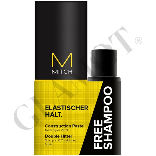 paul mitchell mitch free shampoo construction paste. Black Bedroom Furniture Sets. Home Design Ideas