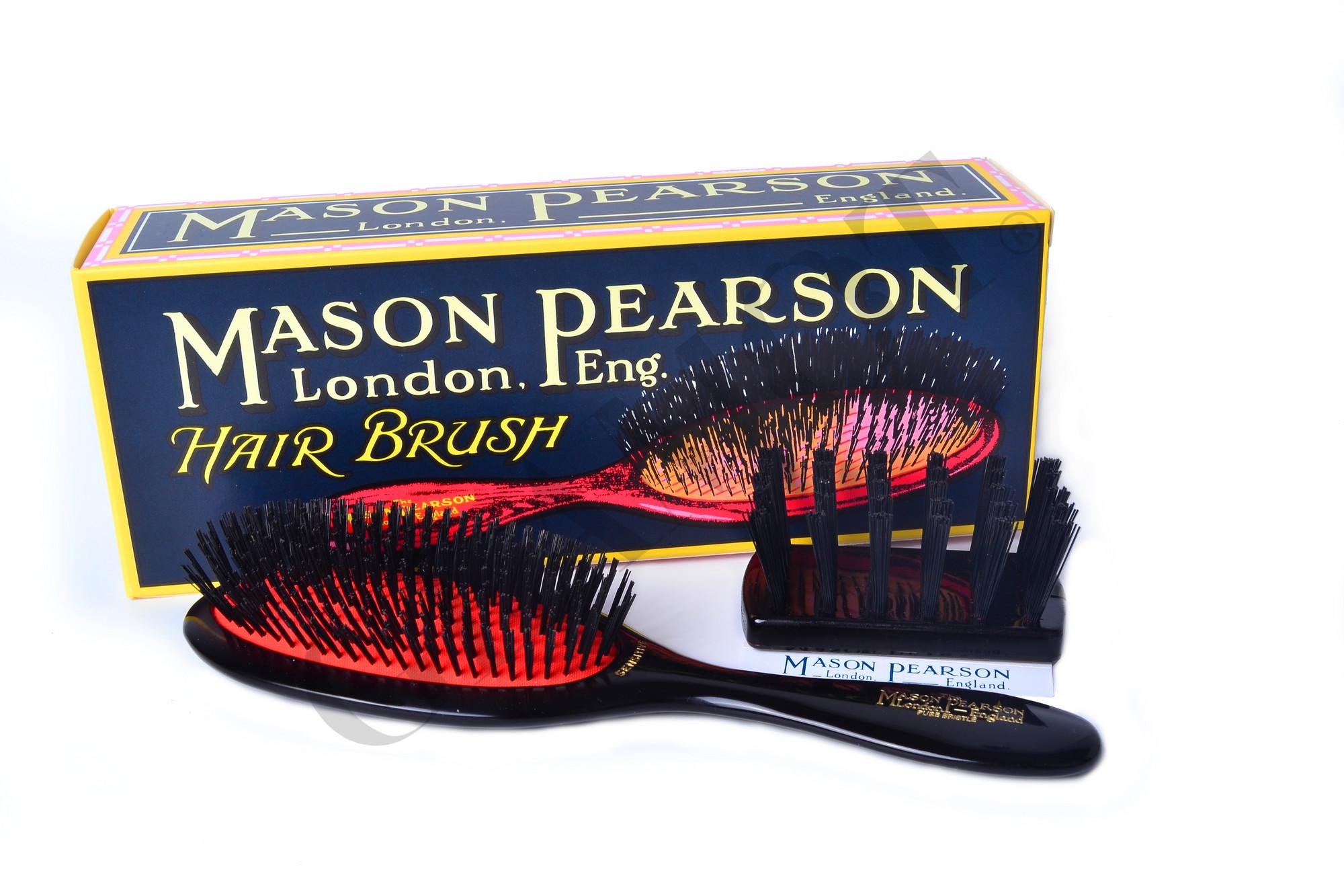 mason pearson pure bristle handy sensitive sb3. Black Bedroom Furniture Sets. Home Design Ideas