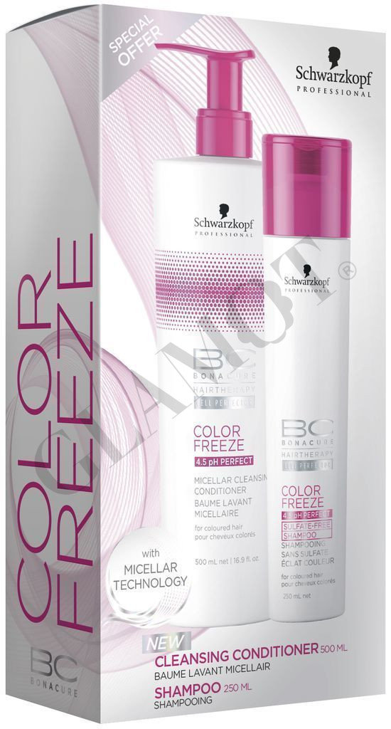 453cdbe6e3 Schwarzkopf Professional BC Bonacure Color Freeze Duo Set | glamot.com