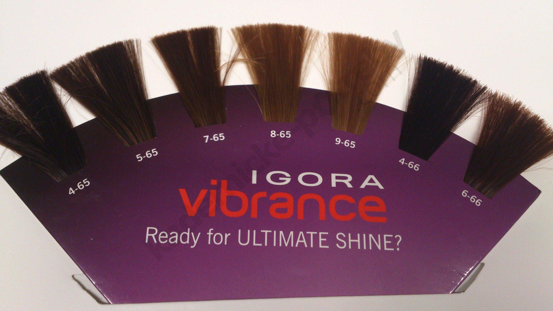 Игора вайбранс краска палитра цветов фото на волосах