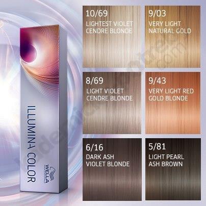 Hair Colour Wella Illumina Color Kadernicke Potreby Com