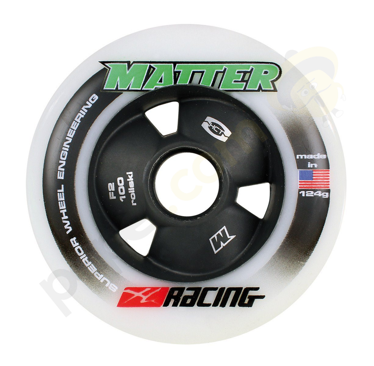Powerslide Pc Game: Powerslide Nordic Matter XC Racing Wheel 20500 (4 Pcs