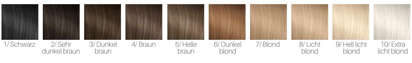 Haarfarbe 5 buchstaben