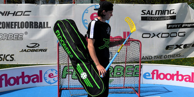 School floorball equipment