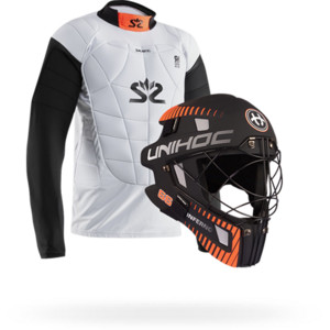 Floorball goalie equipment