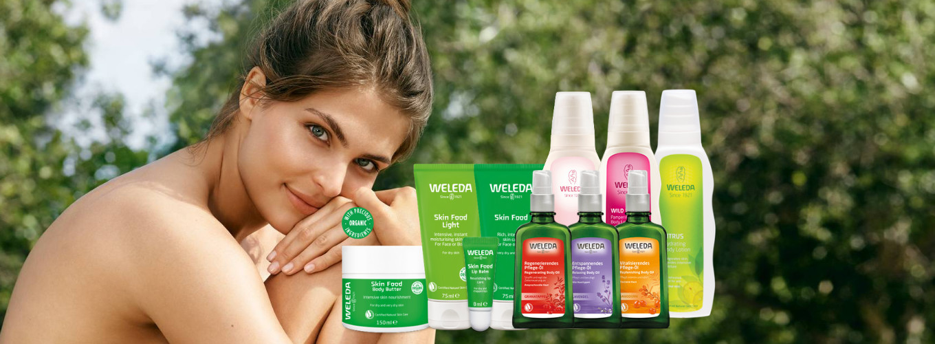 15% & 20% OFF with Weleda!