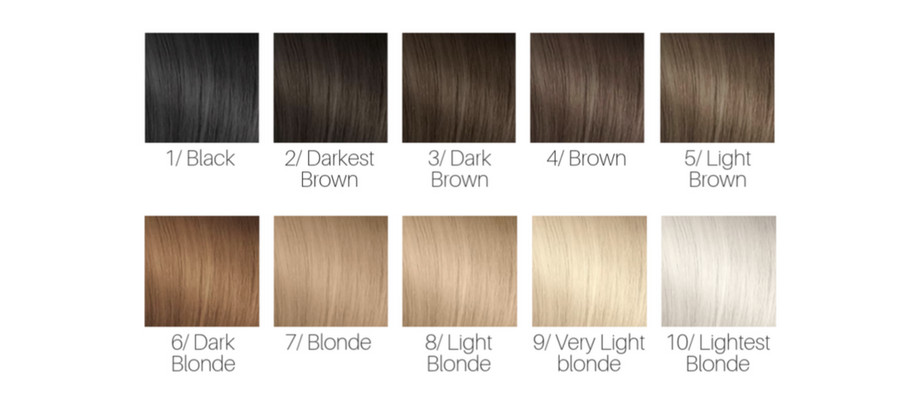 Hair Color Numbering Choose The Right Shade Glamot