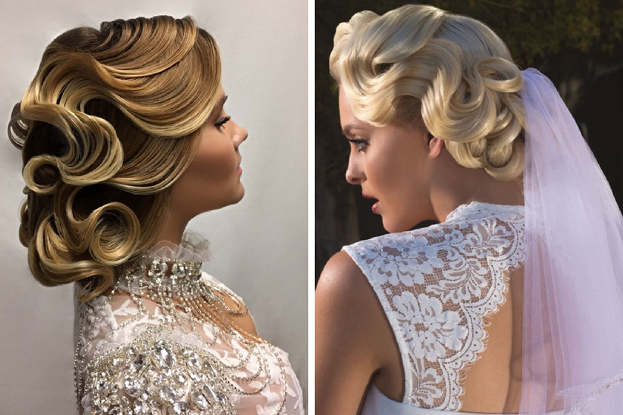 Now In A More Modern Version Finger Waves Updo You Can Create These With Special Triple Barrel Waver Babyliss Pro Label M Or Kevin Murphy