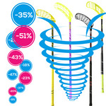 Discount tornado of floorball sticks