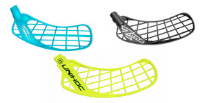 Unihoc Sonic vs. Salming Hawk and Zone Hyper