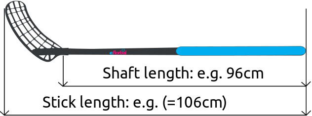 Floorball shaft length