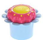 Růžový kartáč v modrém květináčku TANGLE TEEZER Magic Flowerpot Pink and Blue