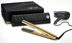 GHD Metallic Collection Sahara Gold Deluxe Set
