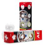 Sada míčků Salming Aero plus 4-pack White `15