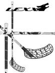 Florbalová hůl LEXX WOLF V1 3,2 white black `14