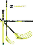 Florbalová hokejka Unihoc CAVITY Power Curve 1.0º 32 neon yellow `15