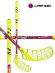 Florbalová hůl Unihoc CAVITY Youngster 36 neon yellow `15