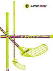 Florbalová hůl Unihoc UNITY Top Light II 29 neon yellow/purple `15