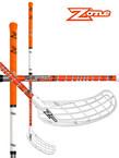Florbalová hokejka Zone FORCE Ripple curve 2.0° 27 Neon orange `15