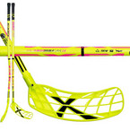Florbalová hůl Exel DoubleCurve 2.6 103 Round Neon Yellow `15