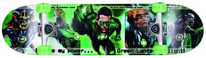 Skateboard Green Lantern Powerforce ´12